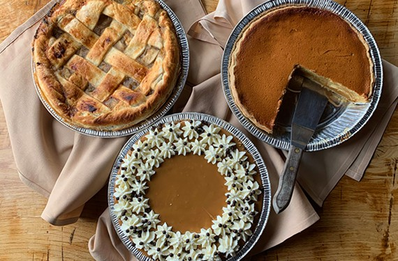 Metzger Bar & Butchery's Thanksgiving pies.