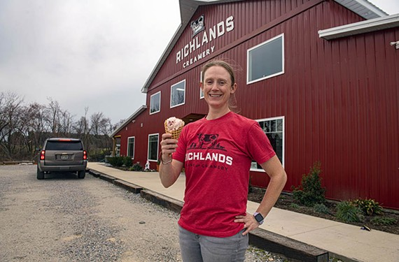 Richlands Dairy and Creamery's Coley Drinkwater turned her family farm into  an ice cream and farm-fresh foods destination.