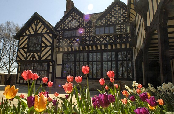 Guided Garden Tours at Agecroft Hall April 2,3, 9 and 10, 9:30 a.m. agecrofthall.org.