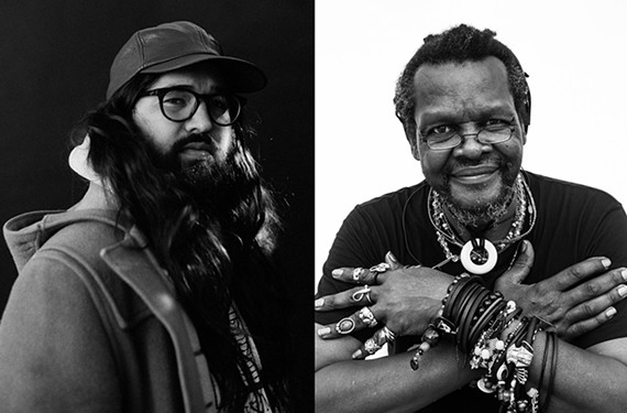 Matthew E. White and Lonnie Holley