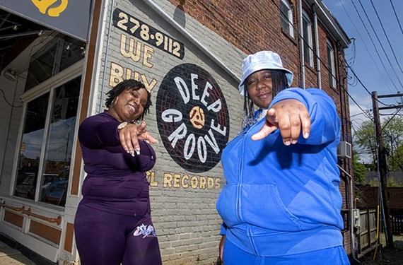 Kelmisha Davis and Desiree Newman are working together on Siren Vibes Records, which pulls its hip-hop talent from the so-called DMV (D.C., Maryland and Virginia) corridor.