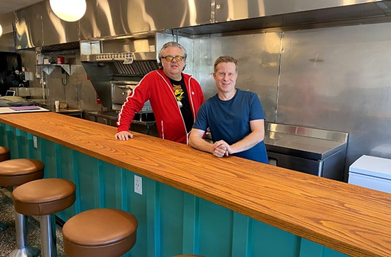 Wildcraft Focaccia Company co-owners Kevin Murphy and Thomas Parfitt.
