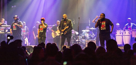 Rare Essence will be bringing the go-go music to get you moving from Washington, DC.