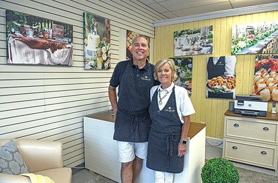 Owners Gill and Lona Crittenden.