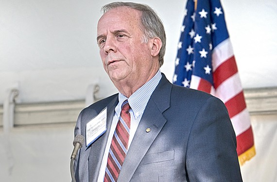 Veteran lawmaker John Watkins has represented Virginia's highly eclectic 10th Senatorial District for years.