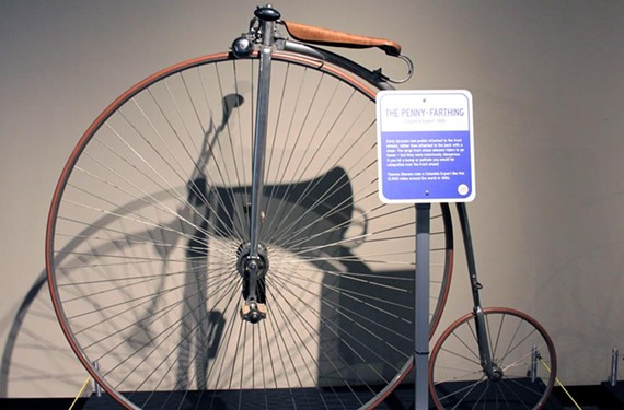 "Among the art projects and cultural exhibits that coincide with the races is ""Bikes: Science on Two Wheels,"" at the Science Museum of Virginia."
