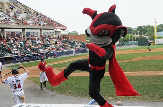 The Richmond Flying Squirrels play New Britain on Sunday, June 21.