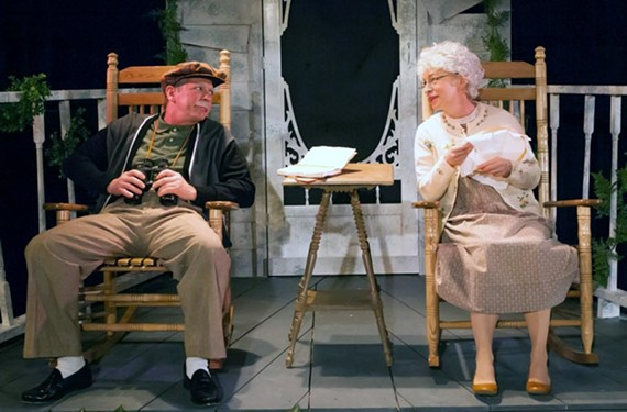 """The one-act """"I'm Herbert,"""" with Richard Koch and Vickie McLeod, is a standout of the somewhat creaky """"You Know I Can't Hear You When the Water's Running."""""""