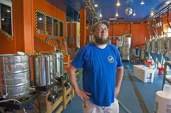The Answer Brewpub's Brandon Tolbert won medals at the Virginia Craft Brewers Cup just six months after he started brewing professionally.