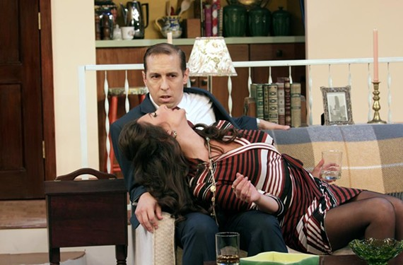 Local theater veterans Scott Wichmann and Eva DeVirgilis, also a couple in real life, play Barney Cashman and Elaine Navazio in the Neil Simon comedy.