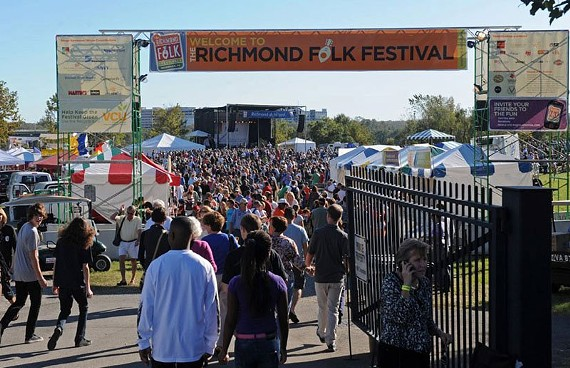 The 2015 Richmond Folk Festival kicks off earlier in the festival week with 15 chefs at the Folk Feast.