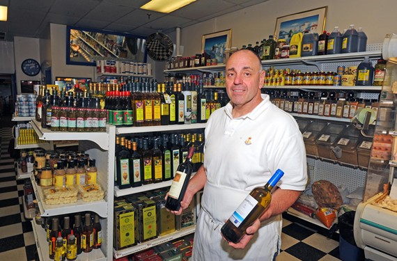 Manuel Mouris of Nick's International Foods says he's keeping close tabs on the economic situation in Greece, especially as it relates to his Richmond business.