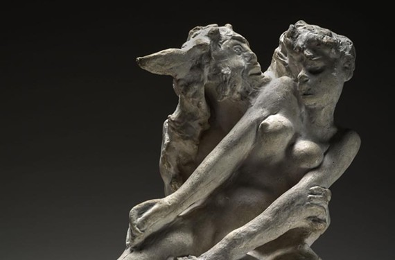 """The Minotaur"" (modeled c. 1885; cast c. 1886) is an oft exhibited work of Rodin's, which shows his fascination with art of the 18th century. A major exhibit of the genius sculptor's art runs from Nov. 21 to March 13 at VMFA."