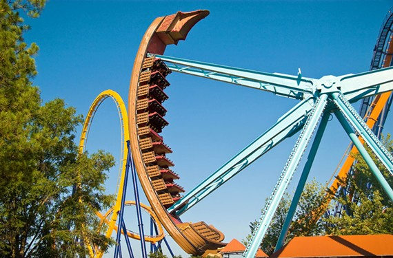 The Berserker will be one of the rides open during a day of free admission.