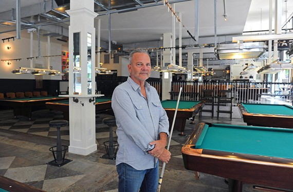 "Jim Gottier, owner of Greenleaf's Pool Room in downtown Richmond, calls straight pool the ""the most beautiful and elegant game."""