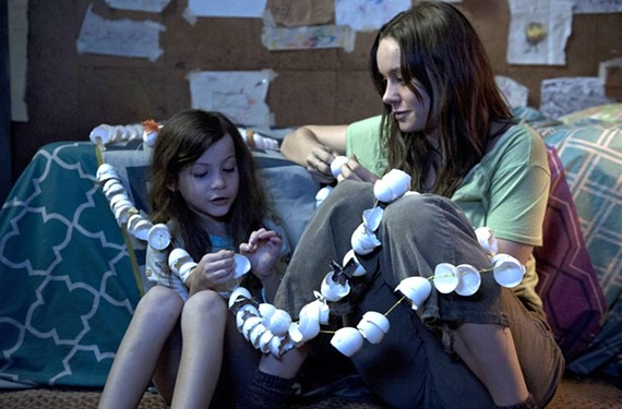 "Five-year-old Jack (Jacob Tremblay) and Ma (Brie Larson) create the world anew after being imprisoned in ""Room."""