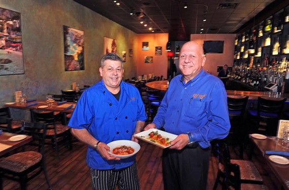 Owners Peppino and Alberto Mastromano bring vividly flavored cuisine brimming with tomatoes, fresh basil and olive oil from Italy's island of Capri to the West End.