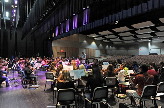 By practicing in its new space at Martin Luther King Jr. Middle School, the Richmond Youth Symphony Orchestra hopes to inject the arts directly into the city's education system and present new opportunities for students.