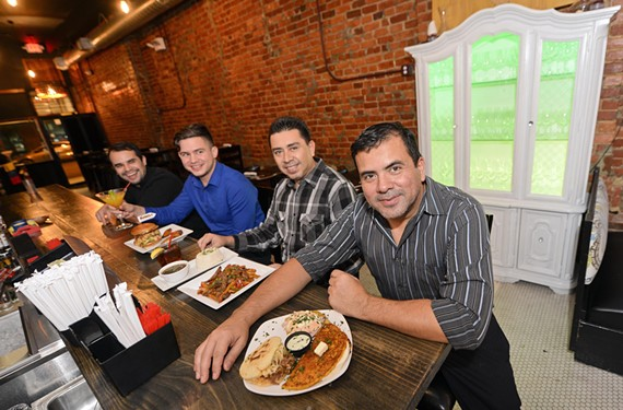 Kanoa Latin Cuisine owner Yofre Blanco, at right, brings authentic arepas and chachapas to a part of Richmond that hasn't seen Venezuelan cuisine on the menu before.