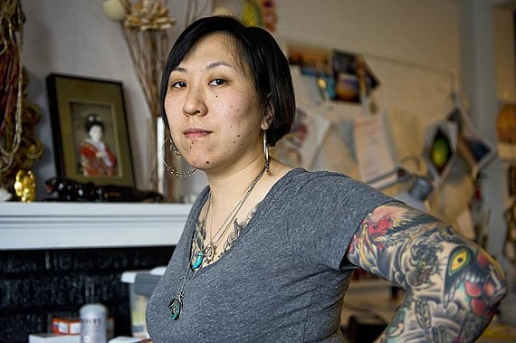 Amy Black, a Richmond tattoo artist whose Instagram account was deleted