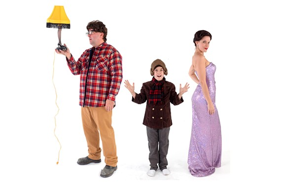 """From left to right: David Clark in """"Christmas on the Rocks,"""" Henry Boyle as Buddy in """"Holiday Memories,"""" and Christie Jackson as Louise in """"Gypsy."""""""
