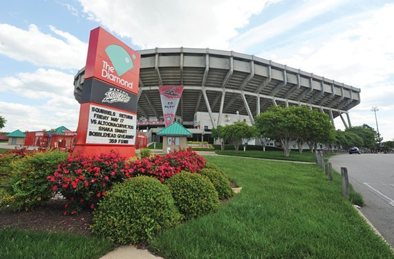 """Local """"Save the Diamond Committee"""" wants to renovate the stadium and bring mixed-use retail to the Boulevard."""