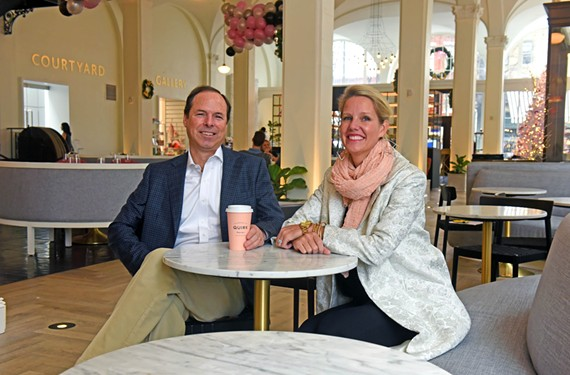 Ted and Katie Ukrop's new Quirk Hotel opened in September.