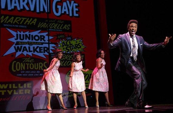 "Actor Jarran Muse has the task of bringing to life soulful crooner Marvin Gaye in ""Motown: the Musical"" which plays at Altria Theater Jan.5 through 10."
