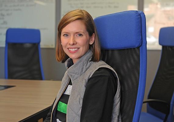 Evatran chief executive Rebecca Hough.