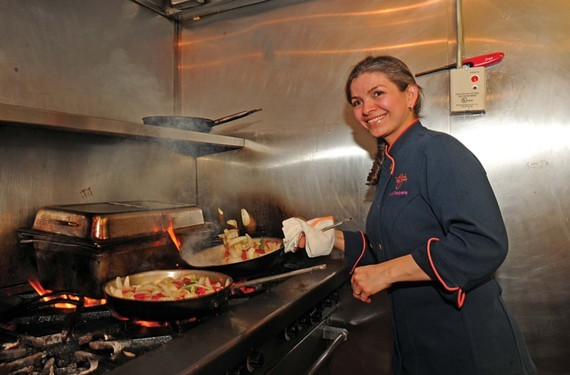 Maria Oseguera says she's been working in restaurants long before she was old enough to work. She'll split her time between two places now — one restaurant in Short Pump and another on East Grace Street.