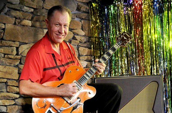 Jim Heath is known as             the Reverend Horton Heat.
