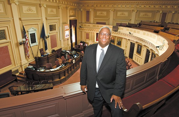 Might State Sen. A. Donald McEachin make a run for Congress in Virginia's newly revamped 4th District?