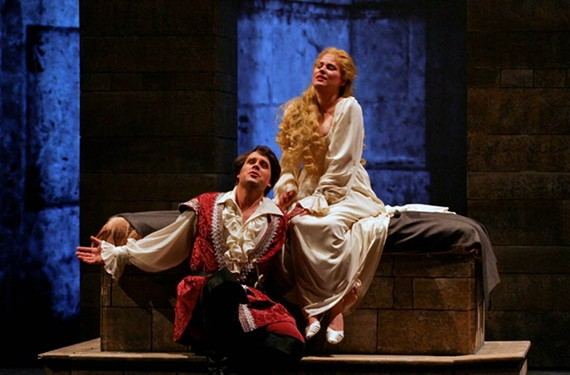The latest from Virginia Opera features tenor Jonathan Boyd as Romeo and the debut of young Canadian coloratura soprano Marie-Eve Munger as Juliet.