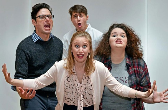 "TheatreLab's ""Bad Jews"" is one of five productions featuring themes of Judaism in the annual Acts of Faith festival."
