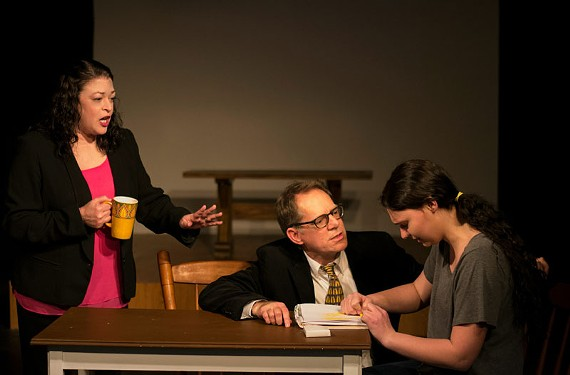 "HATTheater's ""Creating Claire,"" part of the Acts of Faith Festival, runs through March 13."