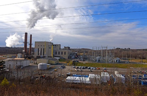 The Bremo Power Plant has been in service burning coal since 1931, but recently switched to natural gas.