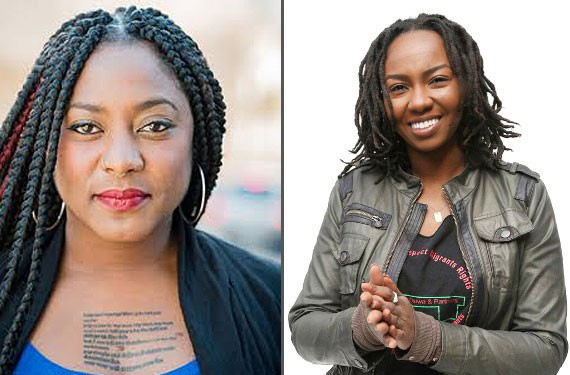 Alicia Garza (left) and Opal Tometi (right) will be speaking at Richmond colleges this month.