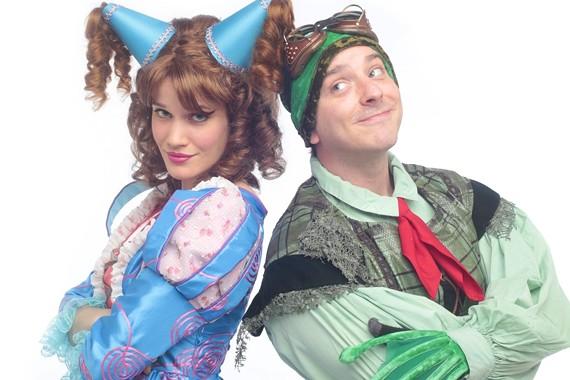 Alexander Sapp as Croaker, Christie Jackson as the Princess