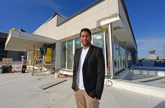 Kabana Rooftop is the latest project for Washington restaurateur Kunal Shah. He also owns Belle & James, located on the ground floor of the same building at 700 E. Main St.