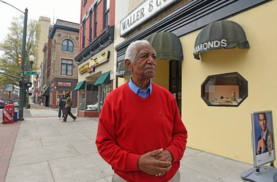 Richard Waller Jr.'s business on East Broad Street, Waller & Co. Jewelers, has been in his family since 1900. Waller has seen decades of changes in the area and is about to witness another wave. And that could affect the future location of the store.