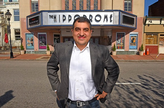 "The historic Hippodrome has been chosen as the site of Roben Farzad's new audience-invited episodes of ""Full Disclosure."""
