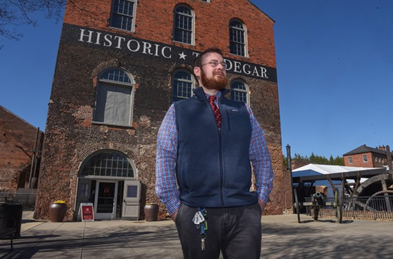 Powhatan County native and author Nathan Vernon Madison explores the history of Tredegar Iron Works in a new book that should delight local history buffs.