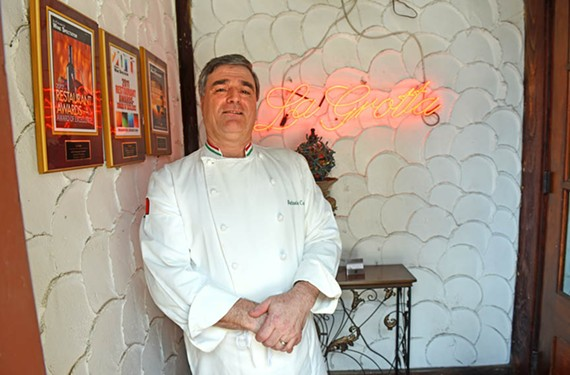 La Grotta chef and owner Anthonio Capece is moving his beloved 21-year-old restaurant from Shockoe Slip to the Hilton Garden Inn on East Broad Street.