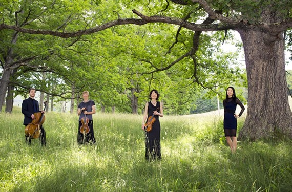 Known for spirited performances, the Garth Newel Piano Quartet is based at the music center of the same name, which is near Hot Springs, Va.