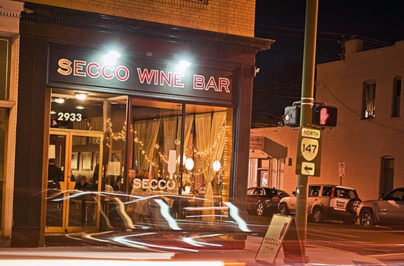"Secco Wine Bar, which is moving to the Fan, will soon be the location of a Capital One ""cafe."""
