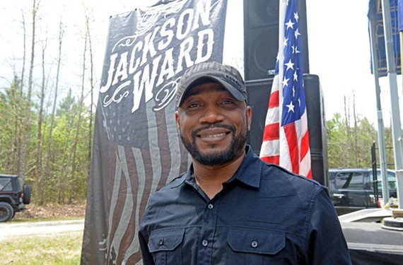Tony Jackson performs with Jackson Ward and is a regular at the Old Dominion Barn Dance. But he's showing promise with a solo career.