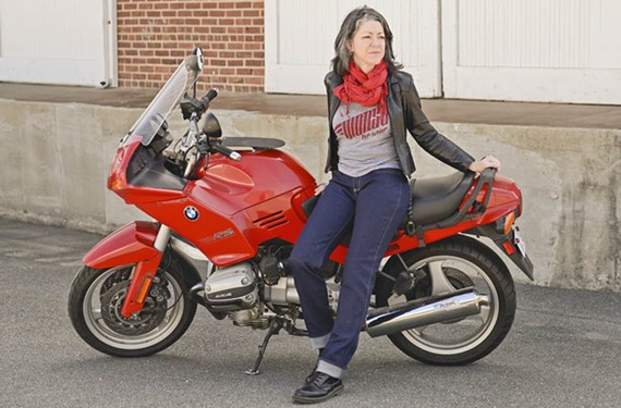 Laura Smith is a co-founder of Worse for Wear, a company that specializes in durable women's motorcycle clothing that is tough but still looks good.