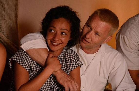 Joel Edgerton and Ruth Negga as Richard and Mildred Loving.