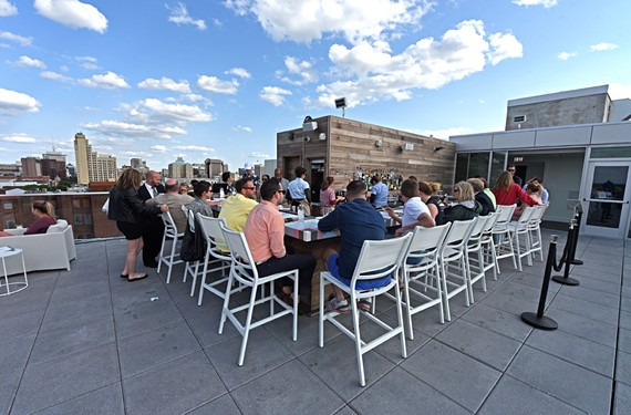 Quirk Hotel's rooftop bar, which opened in April, has had eyes popping and iPhones snapping.