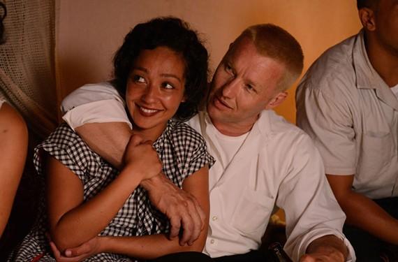 """Joel Edgerton and Ruth Negga  in """"Loving."""""""